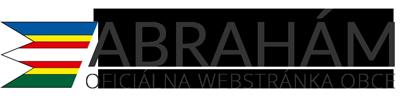 Obec Abrahám Logo