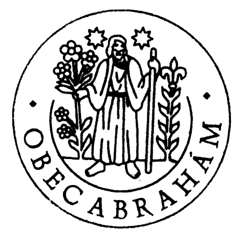 Pečať obce Abrahám