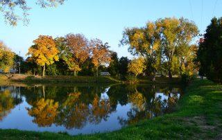 Rybník v Abraháme