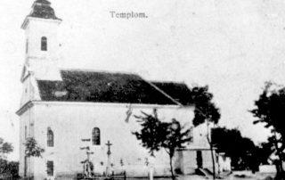 Kostol zo začiatku 20. storočia pred prestavbou