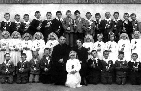 Prvé sväté prijímanie okolo roku 1932
