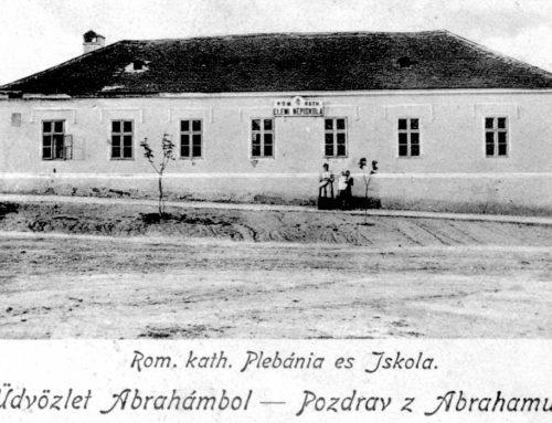 História školstva v obci Abrahám