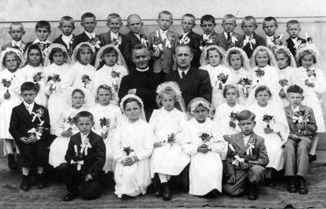 Prvé sväté prijímanie okolo roku 1944