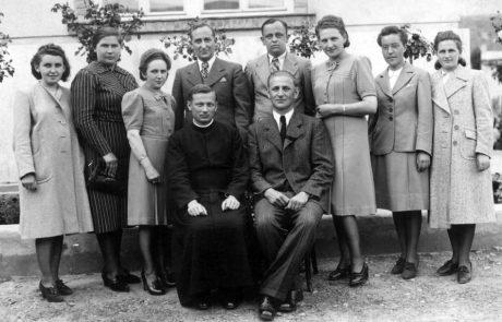 Učiteľský zbor z roku 1941