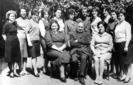 Učiteľský zbor z roku 1967