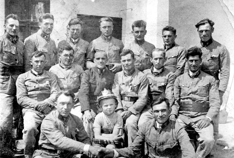 Hasičský zbor okolo r.1940, Abrahám