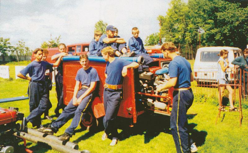Súťaž DHZ v roku 1998