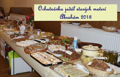 Jedlá starých materí - Abrahám 2018