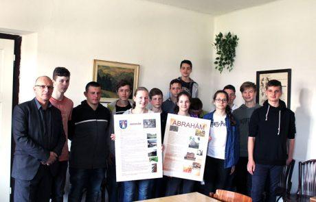 prezentácia obce v nemeckom jazyku
