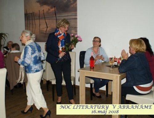 Noc literatúry 2018 – krásny kultúrny zážitok – fotogaléria