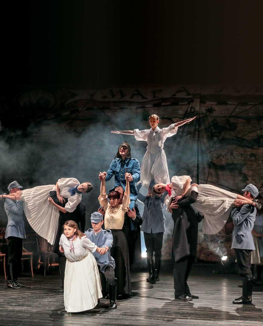 muzikál Radošinského naivneho divadla a SĽUKu