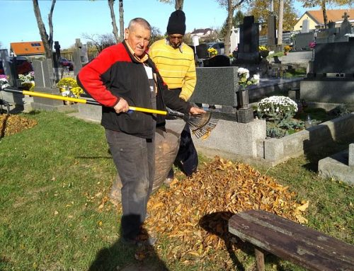 Brigáda na cintoríne – poďakovanie + fotogaléria