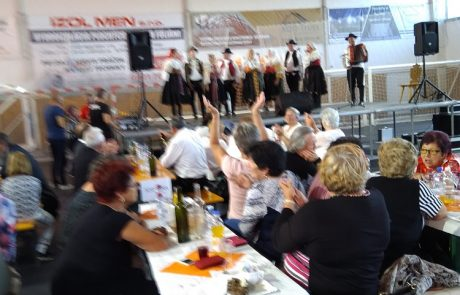Stretnutie dôchodcov v Galante