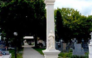 centrálny kríž cintorín Abrahám