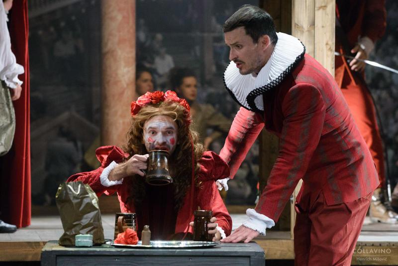 divadlo Zaľúbený Shakespeare
