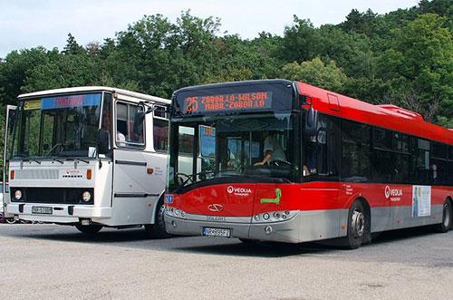 prímestská autobusová doprava