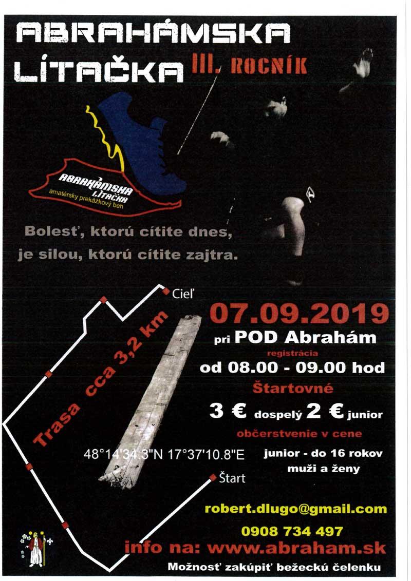Abrahámska lítačka 2019