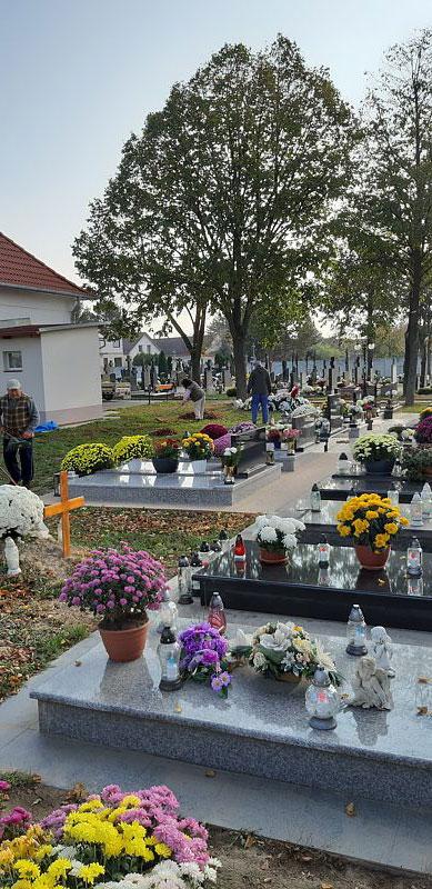 Brigáda cintorín 2019
