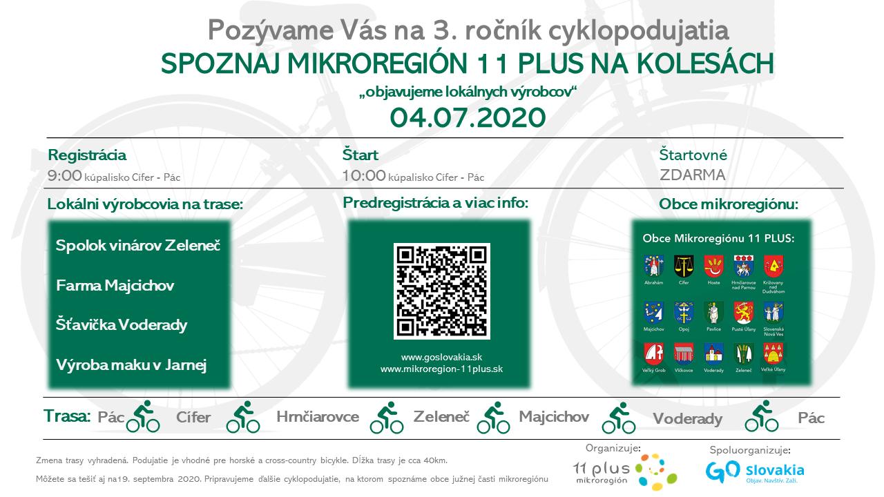 Mikroregión 11 Plus na kolesách